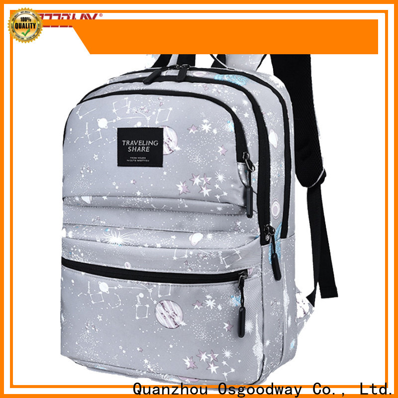 Osgoodway anti theft laptop backpack directly sale for men