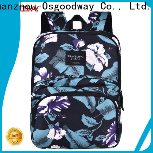 Osgoodway hot sale stylish laptop backpack supplier for school