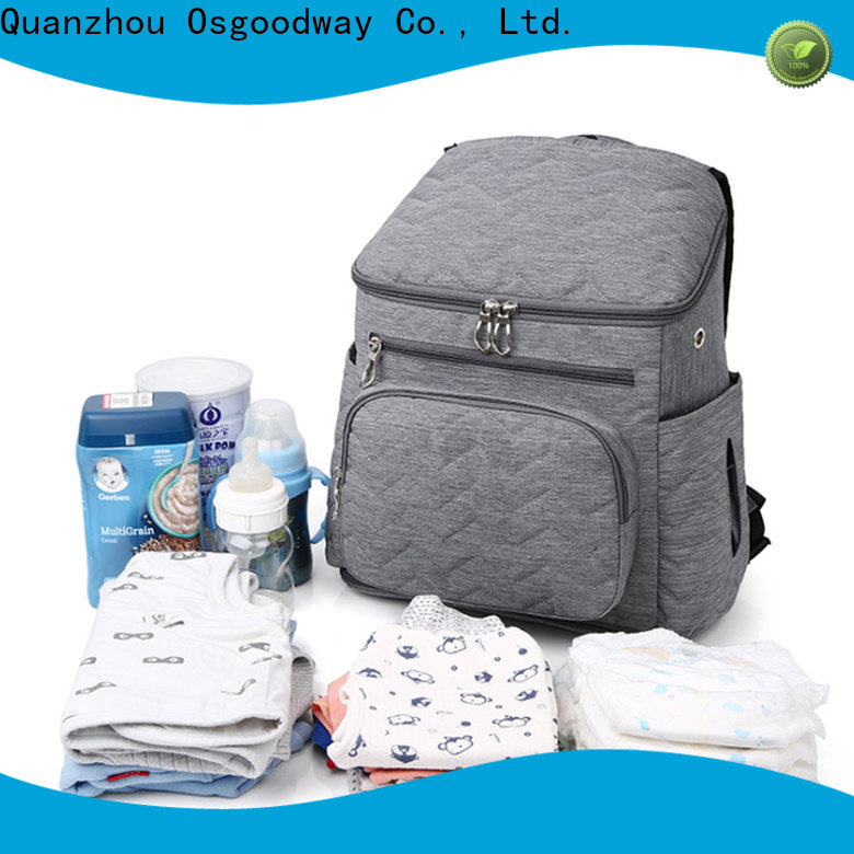 Osgoodway convertible backpack diaper bag easy to clean for mom
