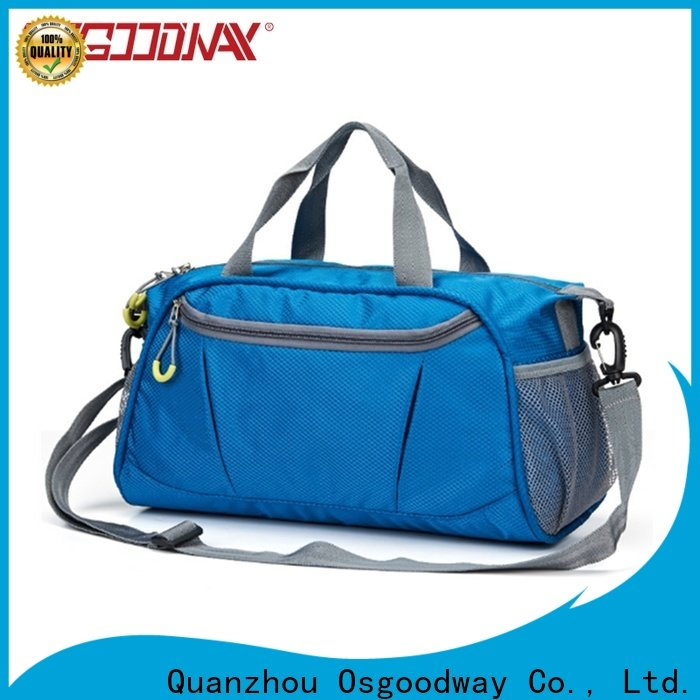 good quality nylon duffle bag with Multi-pockets for fitness