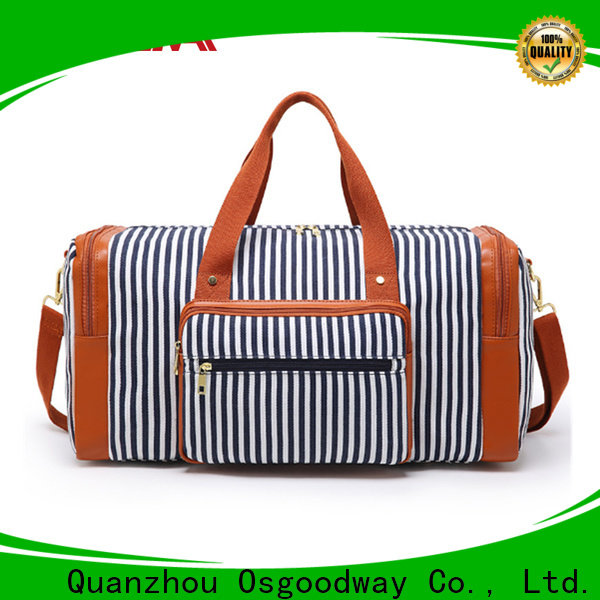 Osgoodway practical nylon duffle bag design for gym