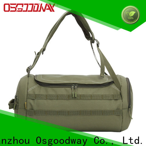 Osgoodway china bag factory with Multi-pockets for fitness