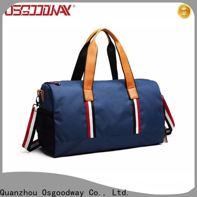 Osgoodway soccer duffle bag supplier for sport