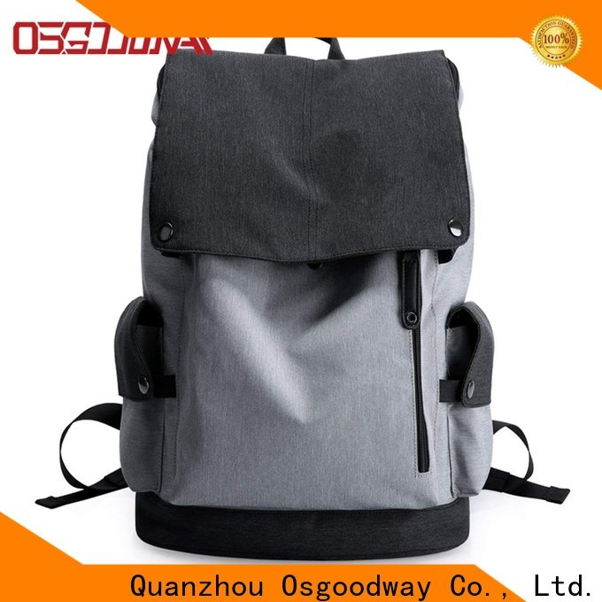 Osgoodway gym backpack design for business traveling
