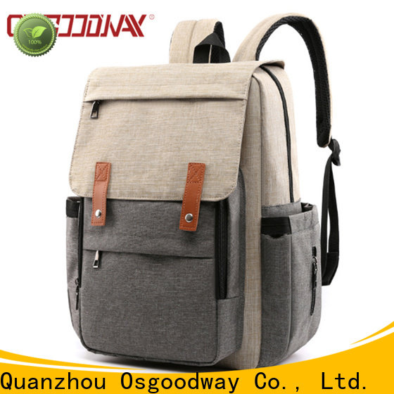 Osgoodway canvas diaper bag manufacturer for vacation