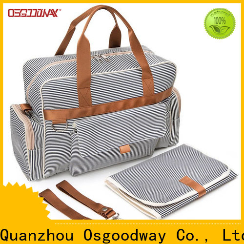 Osgoodway durable canvas diaper backpack manufacturer for mom
