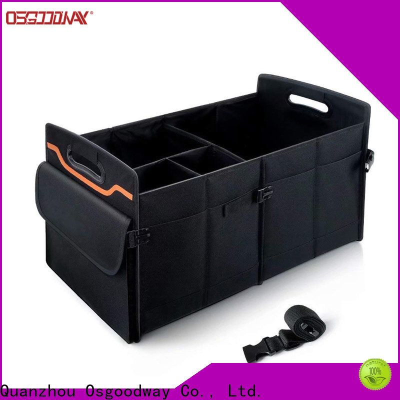 heavy duty trunk organizer with cooler supplier for vehicle