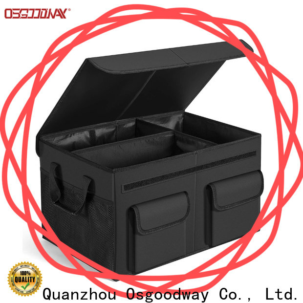 Osgoodway high quality best trunk organizer with cooler bag for suv