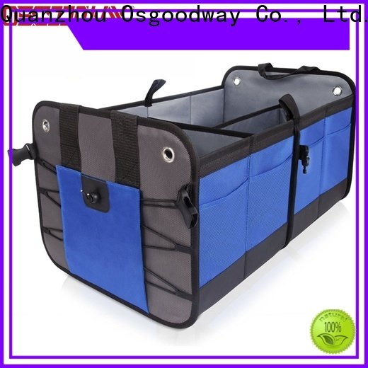 Osgoodway portable trunk organizer for groceries supplier for car