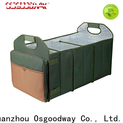 Osgoodway car trunk organizer with cooler bag for vehicle