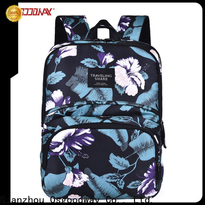 Osgoodway nylon backpack on sale for business traveling