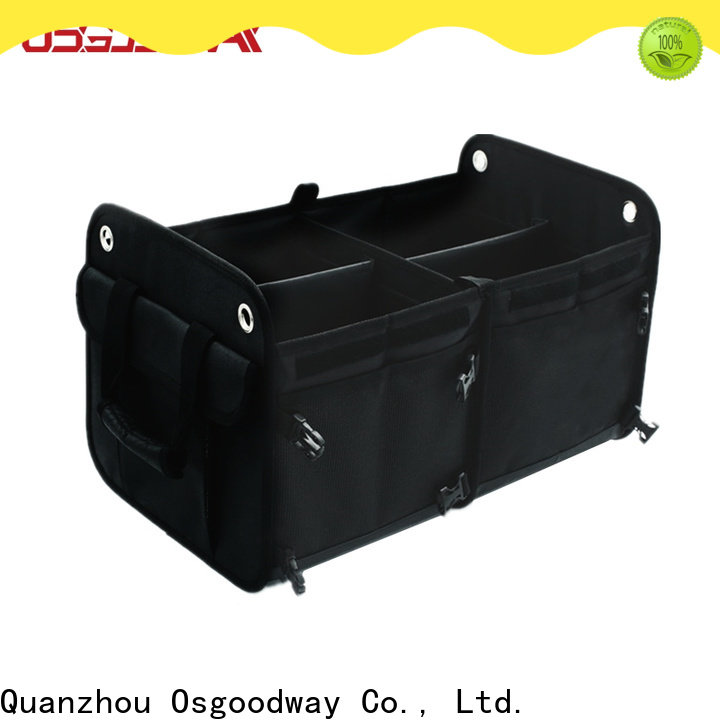 Osgoodway customized jeep trunk organizer personalized for minivan
