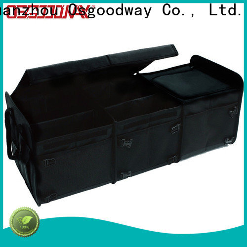 portable car trunk organizer personalized for vehicle