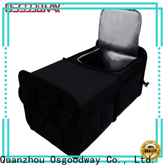 Osgoodway best trunk organizer for suv with cooler bag for suv