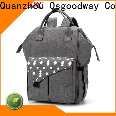 Osgoodway durable backpack diaper bag for girl easy to carry for mom