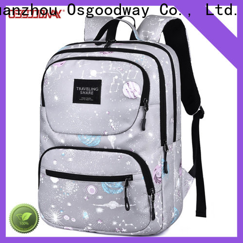 Osgoodway good quality anti theft laptop backpack supplier for business traveling