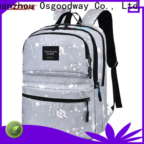 Osgoodway multifunction laptop charging backpack supplier for business traveling