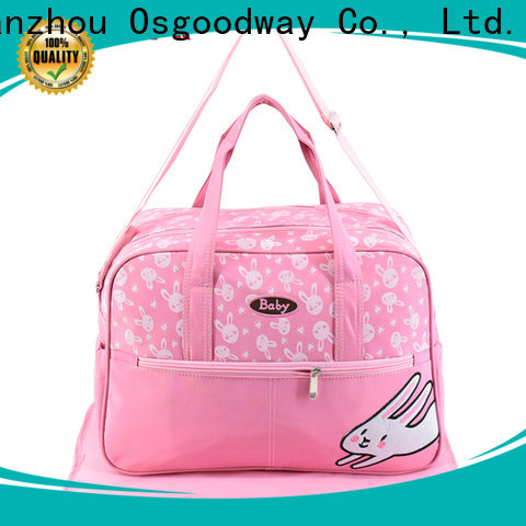 multi-Function crossbody diaper bag manufacturer for baby care
