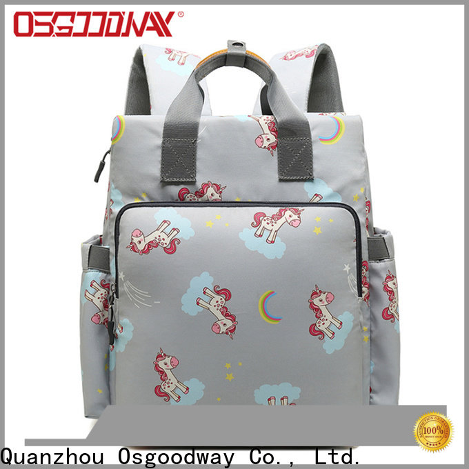 Osgoodway baby diaper bag backpack manufacturer for picnic