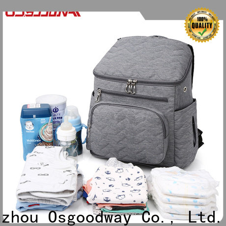 stylish baby backpack diaper bag easy to carry for dad