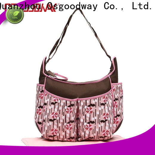 Osgoodway stylish diaper bags manufacturer for dad