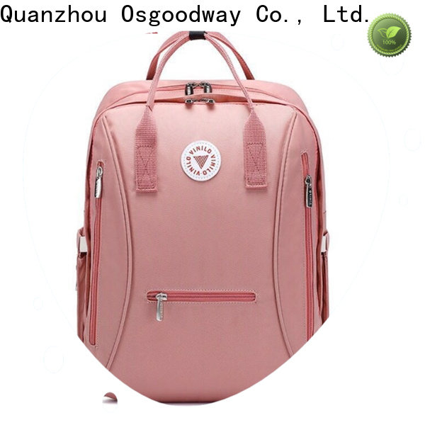 Osgoodway diaper backpack for mom wholesale for dad