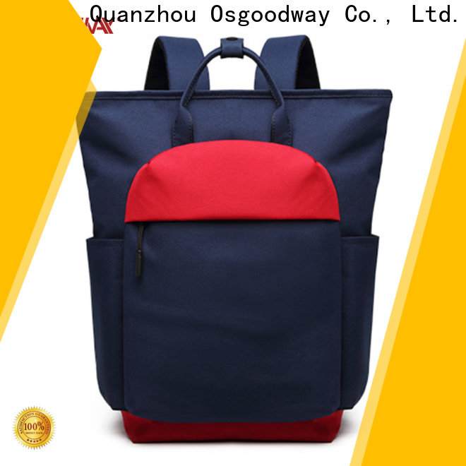 Osgoodway casual work backpack design for school
