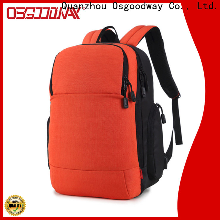 good quality laptop charging backpack from China for men