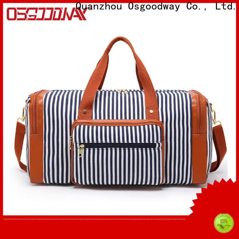 Osgoodway practical football duffle bag with Multi-pockets for travel