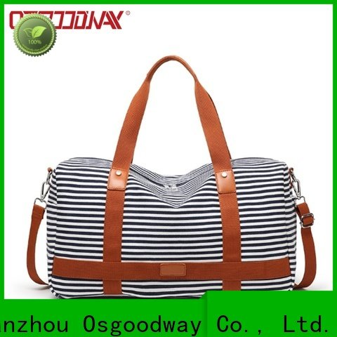Osgoodway china bag factory design for travel