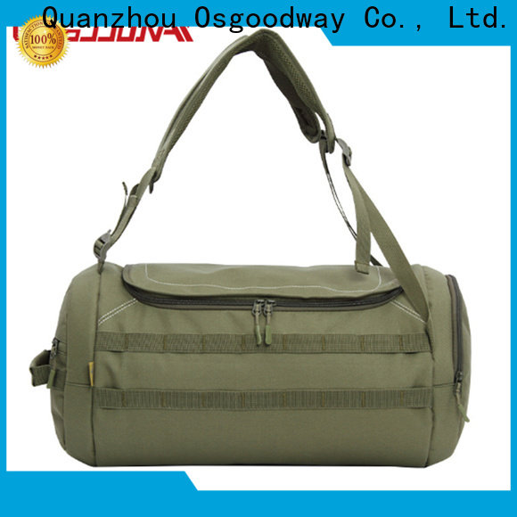 Osgoodway canvas duffle bag supplier for gym