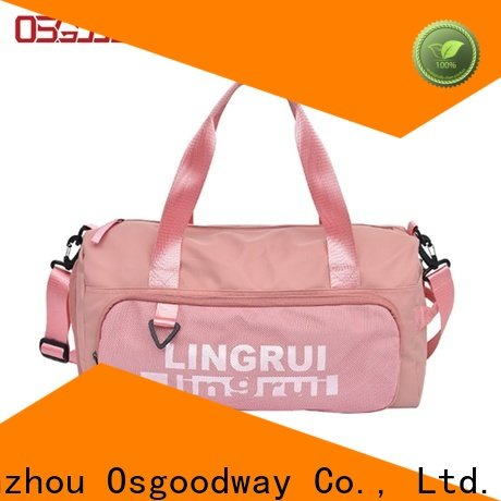 Osgoodway practical nylon duffle bag design for sport