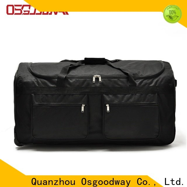Osgoodway baseball duffle bag with Multi-pockets for travel