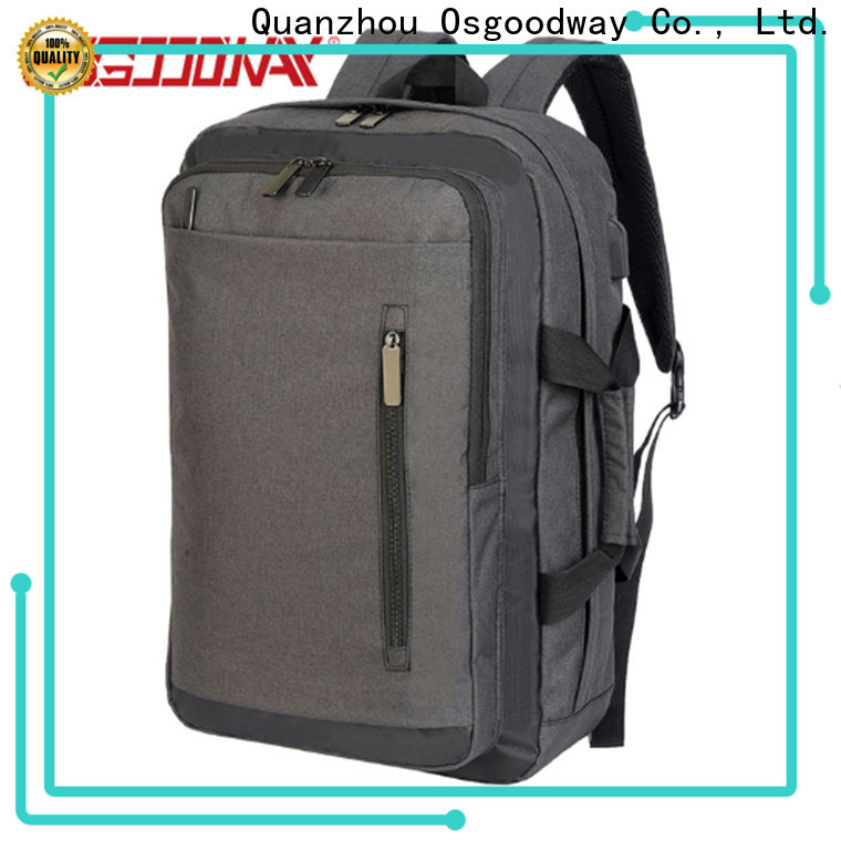 Osgoodway good quality lightweight laptop backpack directly sale for men