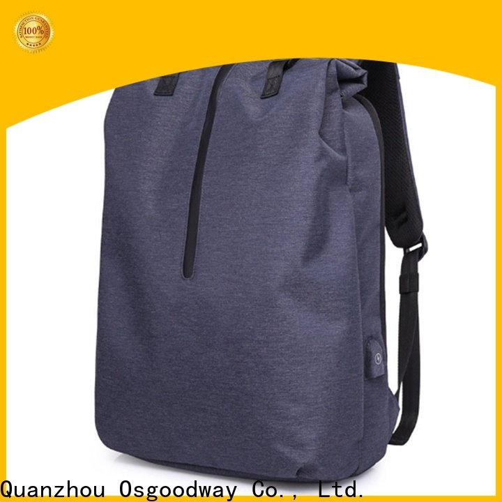 Osgoodway popular ladies laptop backpack from China for work