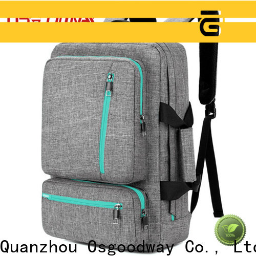Osgoodway hot sale travel laptop backpack from China for work