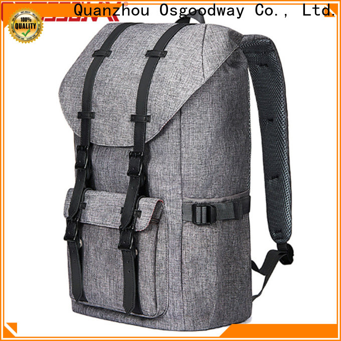 Osgoodway casual outdoor backpack design for daily life