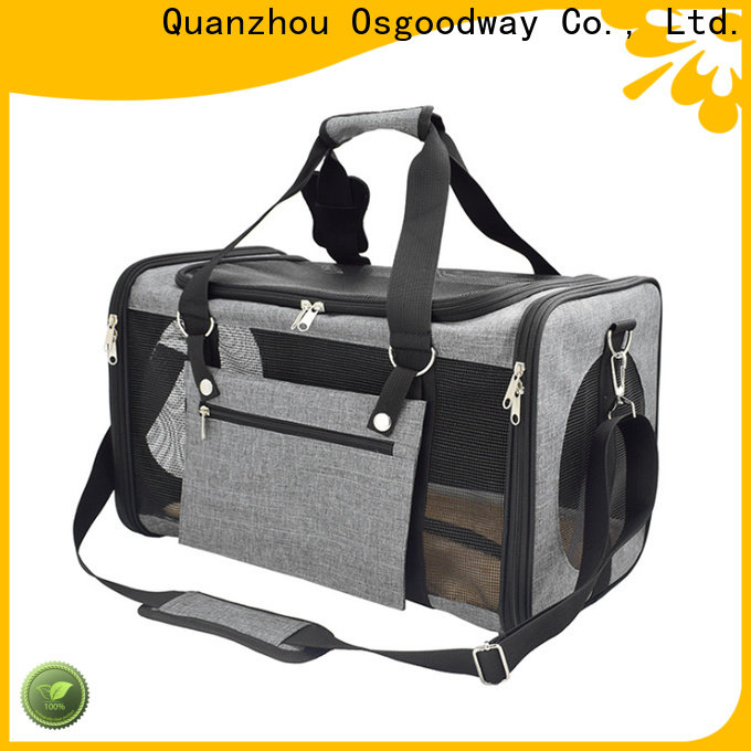 long lasting dog travel bag supplier for puppy