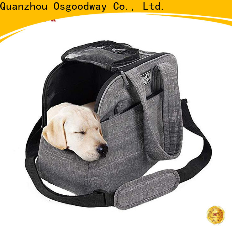 Osgoodway high quality dog carrier bag supplier for pet