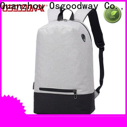 Osgoodway multifunction waterproof laptop backpack wholesale for men