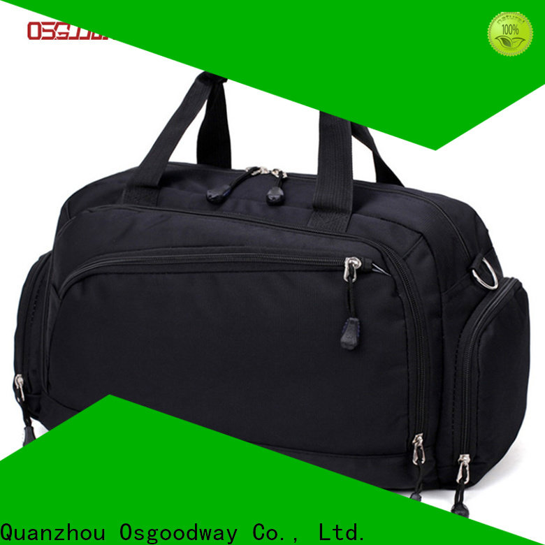 Osgoodway nylon duffle bag with Multi-pockets for gym