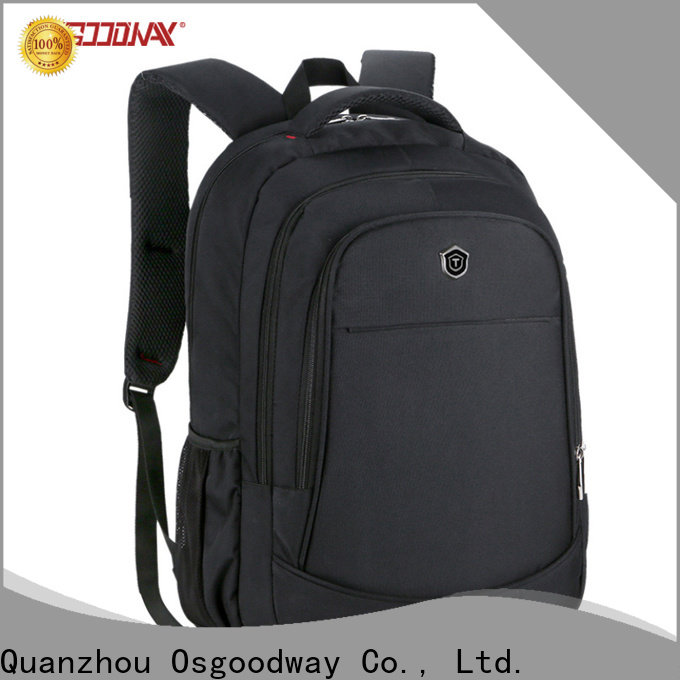 Osgoodway popular canvas laptop backpack directly sale for men