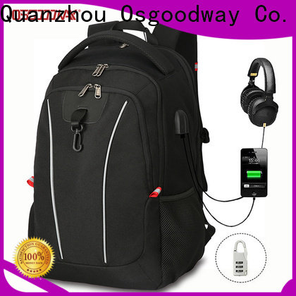 Osgoodway multifunction ladies laptop backpack supplier for school