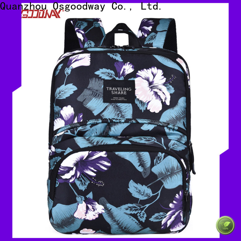 Osgoodway custom nylon backpack on sale for outdoor