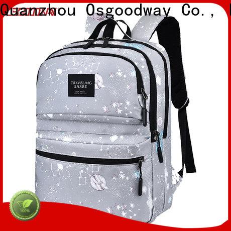 waterproof college girl backpack factory price for outdoor