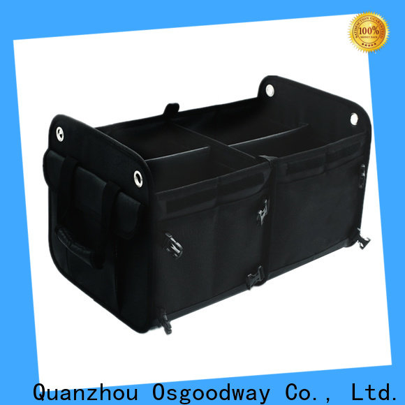 Osgoodway high quality golf trunk organizer wholesale for vehicle