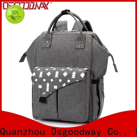 Osgoodway waterproof diaper backpack manufacturer for mom