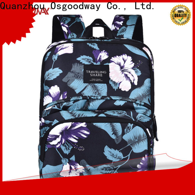 Osgoodway laptop backpack for men wholesale for men