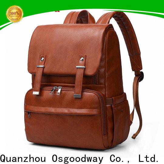 Osgoodway mens diaper bag manufacturer for dad