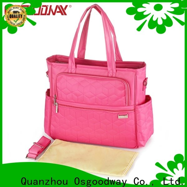 Osgoodway stylish diaper bagpack manufacturer for dad